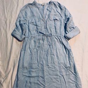 GAP Dresses - Gap Maternity shirt dress, Tencel, medium
